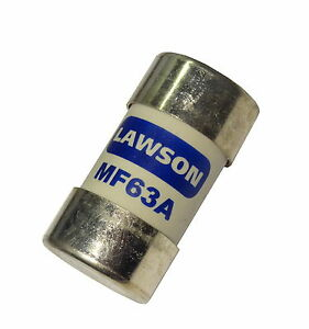 63A BS1361 House Service Cut-out Main Fuse Lawson MF63 | 63 Amp ⌀30.16mm