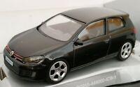 1/43 VOLKSWAGEN VW GOLF GTI NEGRO LICENCIA OFICIAL  COCHE METAL ESCALA DIECAST