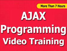 AJAX Programming language video training tutorial CBT - 7+ Hours