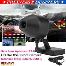 Auto Recorder USB DVR Frontkamera für Android DVD Player Radio CPU 120° 5V KFZ E