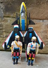 Vintage UNIFIGHTERS Super jet squadron fighter GALOOB 1980s Rare