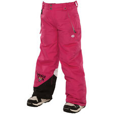 686 Girls Snaggle Sister Snowboard Pant (M) Raspberry