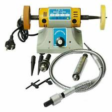 110V 350W TM-2 Jewelry Rock Polishing Buffer Machine Bench Mill Lathe Polisher