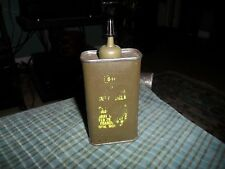 1976 US ARMY ISSUE MILITARY WEAPON LUBRICATING OIL  4OZ TIN W/ Contents