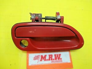 DOOR HANDLE RIGHT FRONT PASSENGER SIDE RF RH R RED for 95 96 97 98 99 LEGACY GT
