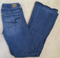 American Eagle Outfitters AEO Size 4 Artist Boot Cut Stretch Jeans Womens #266B