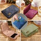 Women Leather Wallet Coin Purse Clutch Wallet Trifold Card Holder Lady Small Bag