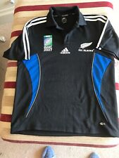 Addidas Clima 365 All Blacks Rugbyworld Cup2007 Top Pre Owned 36/38 Chest
