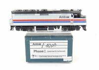 HO Brass PFM - Samhongsa Amtrak EMD F40PH Factory Painted Phase II Wide Band