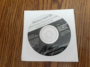 Windows XP  Professional  SP2 , unopened reinstall CD for HP or Compaq