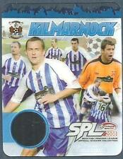 PANINI SCOTTISH PREMIER LEAGUE 2008- #I-KILMARNOCK TRANSPARENT CARD