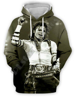 Michael Jackson Funny 3D print Hoodie Men Women Casual Sweatshirt Pullovers Tops