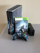 Microsoft Xbox 360 S Halo 4 Limited Edition 320GB Blue Console with Halo 4 Game