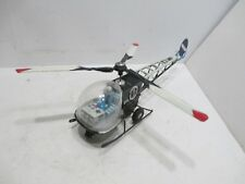 HELICOPTER-BELL 47  POLICE DEPARTMEN--FRICTION POWERED--TESTED WORKS GOOD--JAPAN