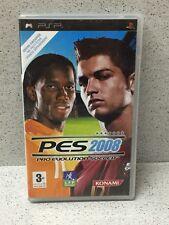 JEU PSP PES 2008 AVEC NOTICE