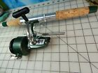 """vintage ZEBCO Fishing rod 4440-5'6"""" Spinning Reel xrl35 collectible lure reel"""