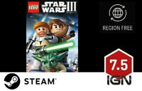 Lego Star Wars III Clone Wars [PC] Steam Download Key - FAST DELIVERY