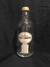 Hennessy Pure White Empty Bottle Collectible Hard to Find