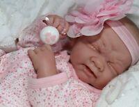 My SWEET Baby GIRL! Berenguer Life Like Reborn Preemie Pacifier Doll + Extras
