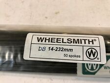 75x DT Swiss Competition Double Butted 1.8x1.6mm J-Bend Silver Spoke 230~270mm