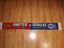 FANSCHAL MANCHESTER UNITED - SCHALKE CL HALBFINALE 2011 !!!