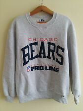 Vintage Pro Line Chicago Bears Crewneck Sweatshirt Size: M Made in USA