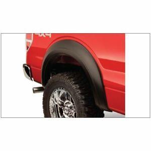 Bushwacker 22004-11 Black Smooth Rear Fender For 94-14 Ford E-150 E-250 E-350