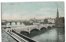 "RP Postcard. "" THE TWO BRIDGES "", AYR. Valentine's"
