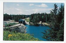 Vintage Postcard Moncton New Brunswick Canada Fundy National Park Covered Bridge