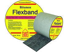Bitumen Flex Dichtband - 100 mm  Rolle 10 m  Dehnbarkeit bis 30 %