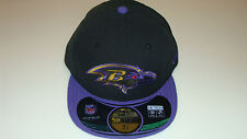 New Era Hat Cap NFL Football Baltimore Ravens 7 3/8 59fifty Thanksgiving Fitted
