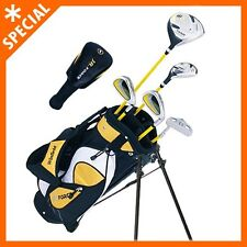 Junior Kids Golf Club Set/Golf Set/Ages 5-8 Yellow Golf Set/ Set Left-Hand LH