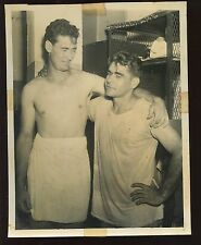 Vintage Ted Williams Boston Red Sox & Charley Keller #2 Wire Photo