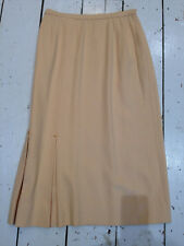 Vintage ladies 50s beige skirt tailored even picone new york   retro