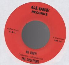 Orig THE CREATIONS Plenty of Love / Oh Baby! 45 Globe Northern Soul EX
