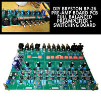 For BP-26 Pre-Amp Board PCB Full Balanced Preamplifier + Switching Board