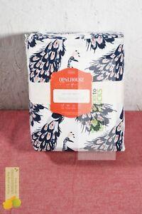 Opalhouse- Printed Easy Care Cotton Sheet Set, Queen, Peacock