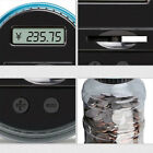 Electronic LCD Digital Coin Counter Piggy Bank Counting Saving Jar Change Sorter