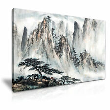 Chinese Landscape Painting Canvas Wall Art Picture Print 76x50cm