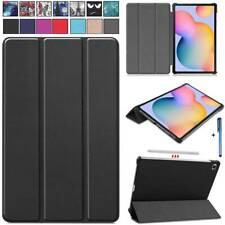 "For Samsung Galaxy Tab S6 Lite 10.4"" P610 Tablet Smart Leather Stand Case Cover"