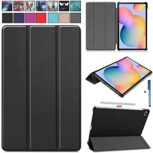 """For Samsung Galaxy Tab S6 Lite 10.4"""" P610 Tablet Smart Leather Stand Case Cover"""