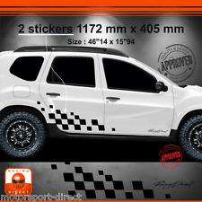 Sticker DACIA DUSTER tuning racing aufkleber adesivi pegatina decal 001