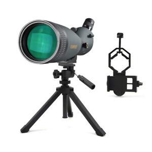 Visionking 30-90x90 Waterproof Spotting scope Telescope & Phone Adapter