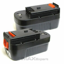 2 x 18V 1500mAh Slide Battery for Black & Decker FSX180BX FS18BX FS18FL FSB18