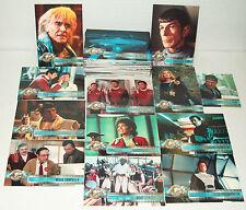 Star Trek Cinema 2000 Complete 82 Card Base Set Skybox