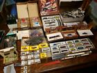 Large Mrklin Z Scale Lot: 4 Locomotives, Freight and Passenger Cars, Track, +