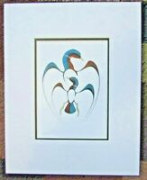 """GENERATIONS  11"""" x 14"""" Matted art print by ISAAC BIGNELL - 7741"""