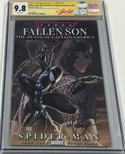 Fallen Son Captain America #4 Signed by Stan Lee & Turner CGC 9.8 SS Avengers