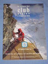 LA RIVISTA DEL CLUB ALPINO ITALIANO - Settembre Ottobre 1993 (M4)
