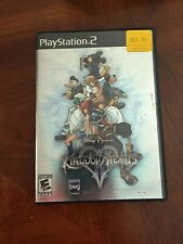 Kingdom Hearts II (Sony PlayStation 2, 2006) Complete & Nice NG3